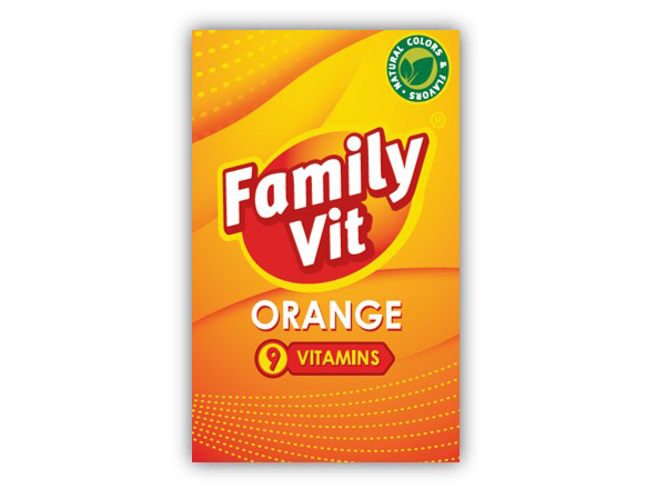 FAMILY VIT ORANGE 19G