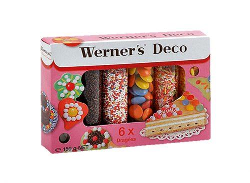 WERNERS DECO 150g, 6 dozni dekorativnih mrvica i dražeja